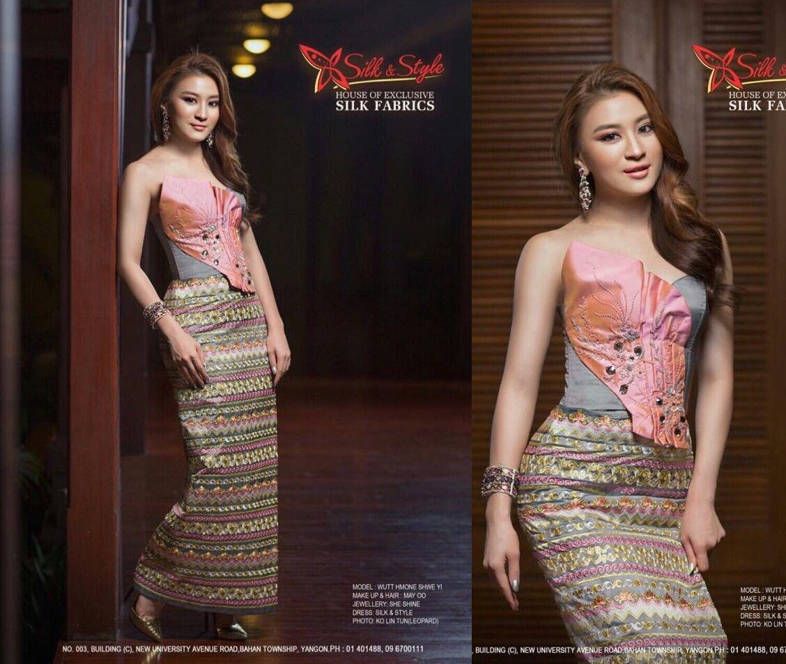 Elegant color. Superb color combination.   Myanmar ...
