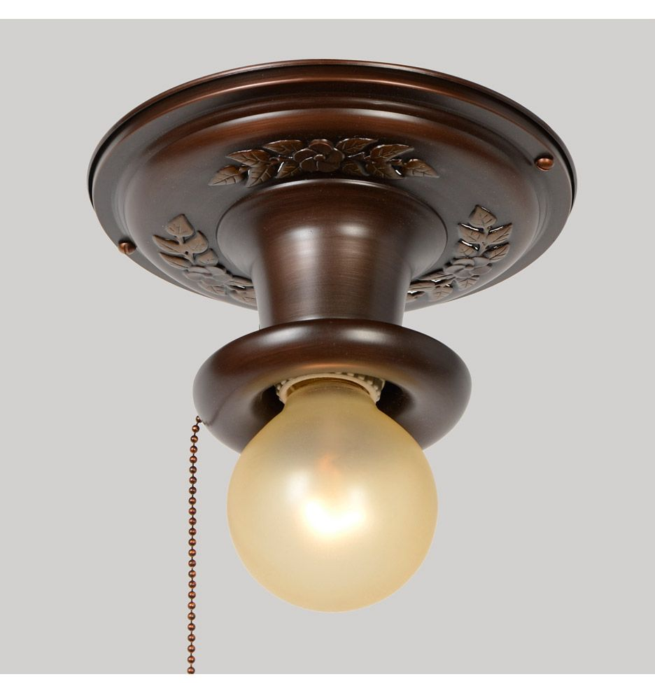 Pin On Pull Chain Light Fixture