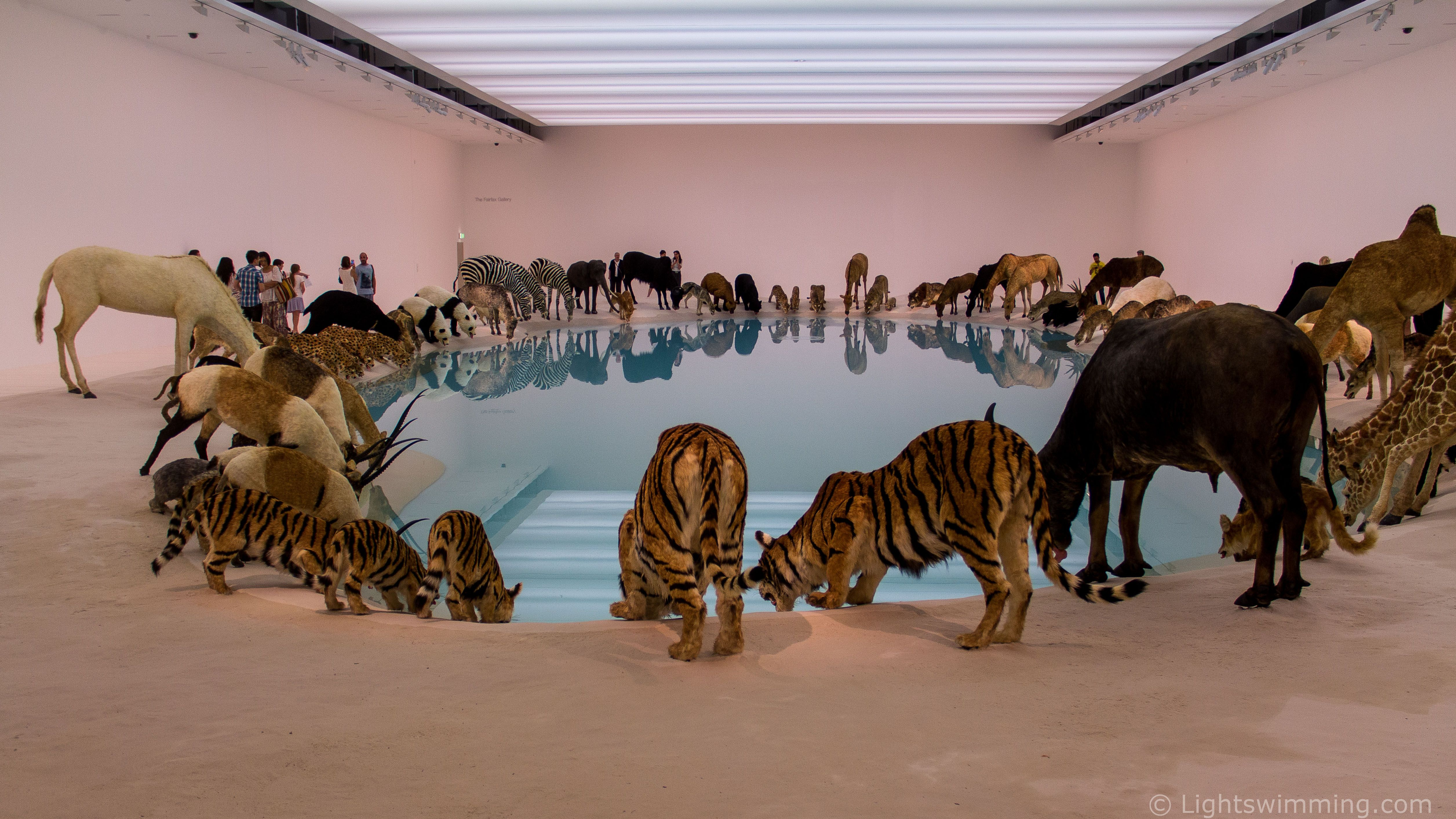 Cai Guo-Qiang -'Heritage' / Falling Back to Earth 2013