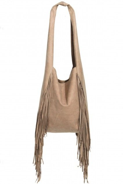 Monserat de Lucca Saba Leather Fringe Hobo   Calypso St. Barth ... 087e4b94e9