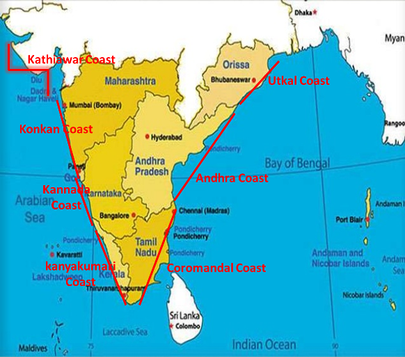 Coastal plains of india ranges pinterest coastal india and coastal plains of india gumiabroncs Images