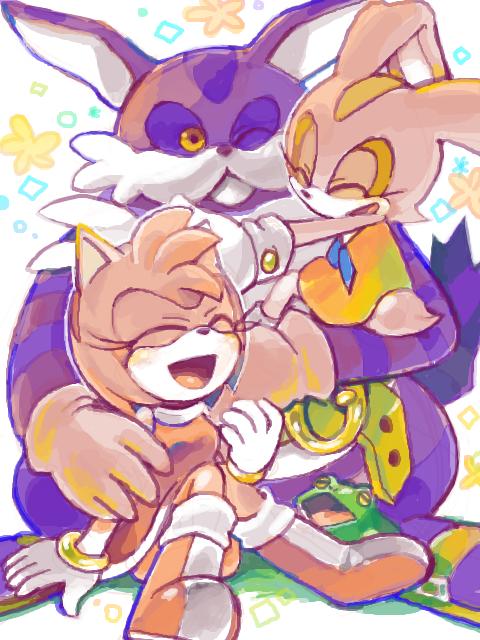 Team Rose Hugs  Sonic Fanart  Cream Sonic, Sonic -1071