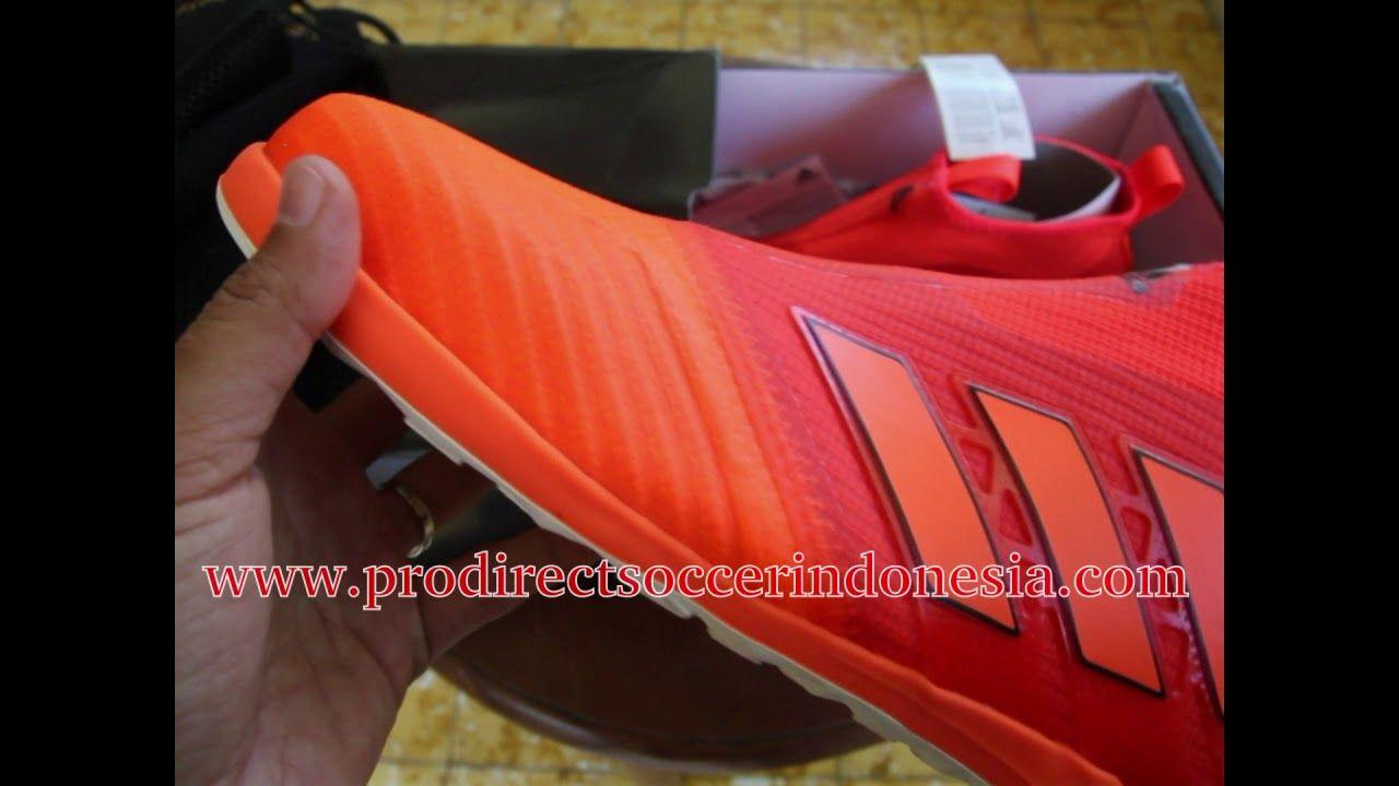 Sepatu Futsal Adidas Ace Tango 17 Purecontrol Solar Red Orange