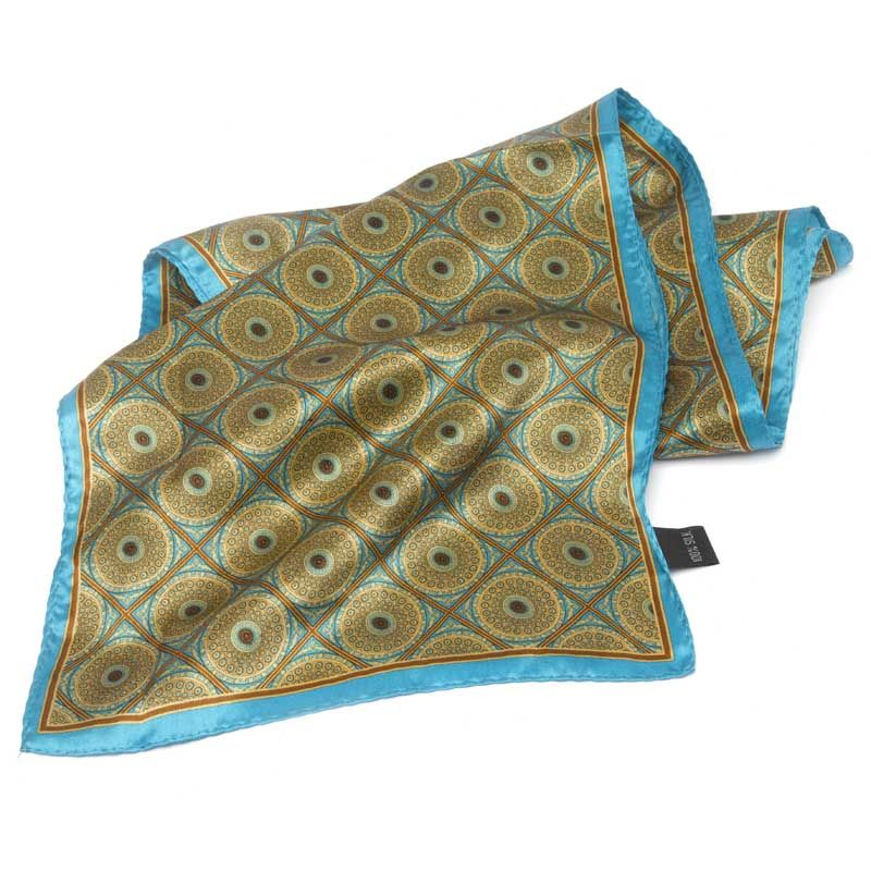 Chapel Print Silk Scarf - ORNC shop