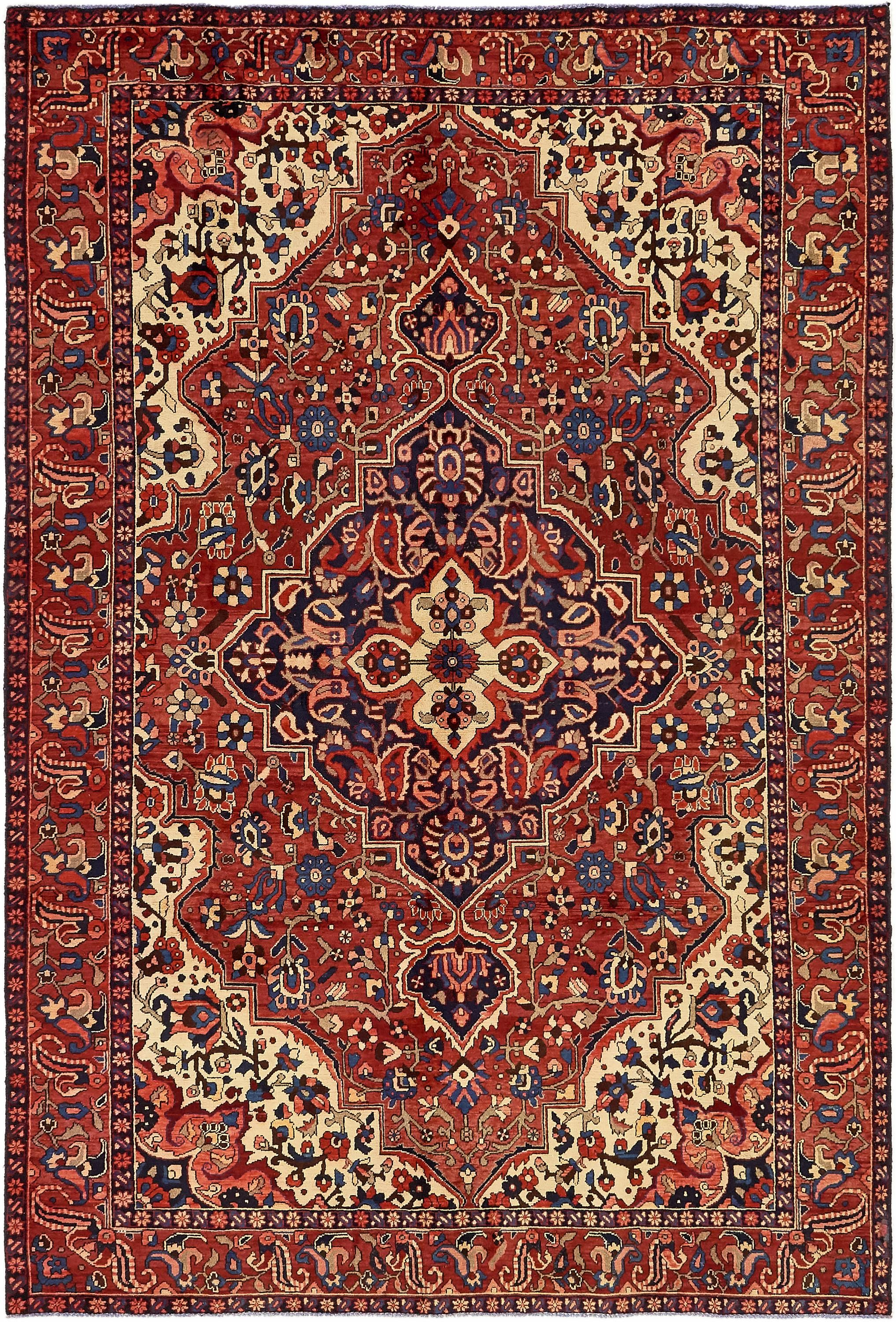 Red 6 7 X 9 10 Bakhtiar Persian Rug Rugs Erugs