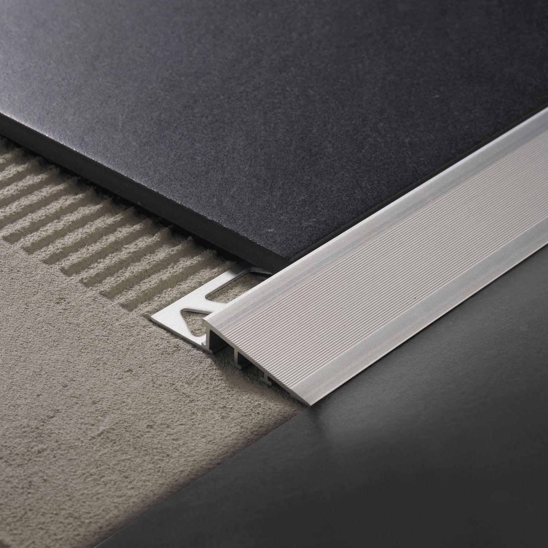 Aluminum Edge Trim For Tiles Ramptec Zrr Profilitec Tiles