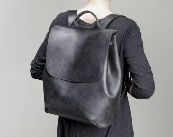 Sac à dos noir sac à dos scolaire sac à dos en cuir sac à dos sac à dos femmes sac à dos en cuir sac à dos pour ordinateur portable