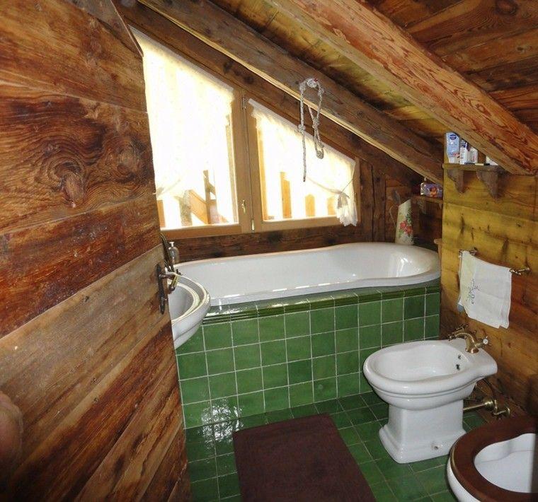 Cuartos de ba o rusticos de madera cocinas ba os - Cuartos de bano rusticos de obra ...