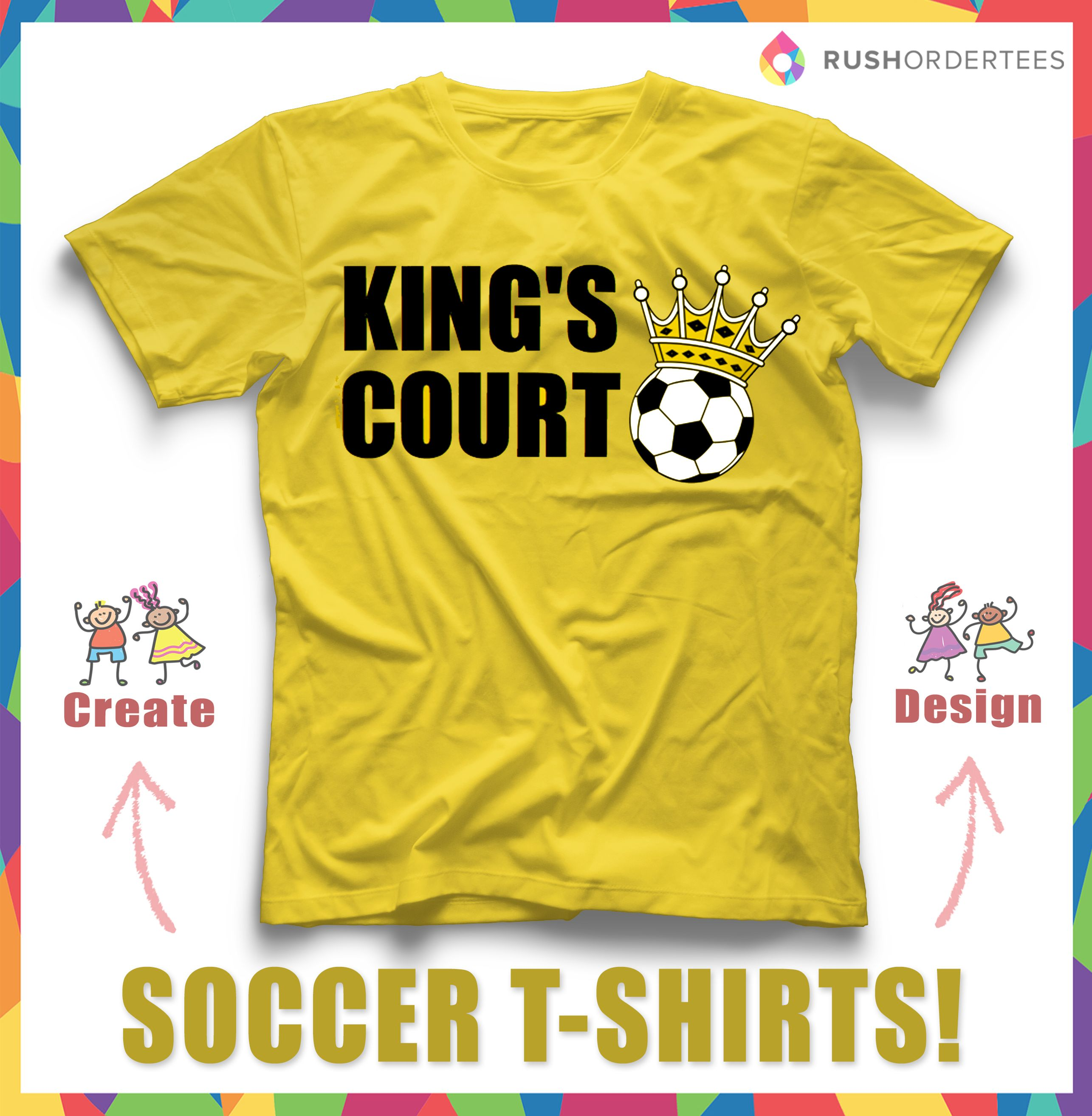 soccer t shirts for your team design and edit this design in our online - Soccer T Shirt Design Ideas