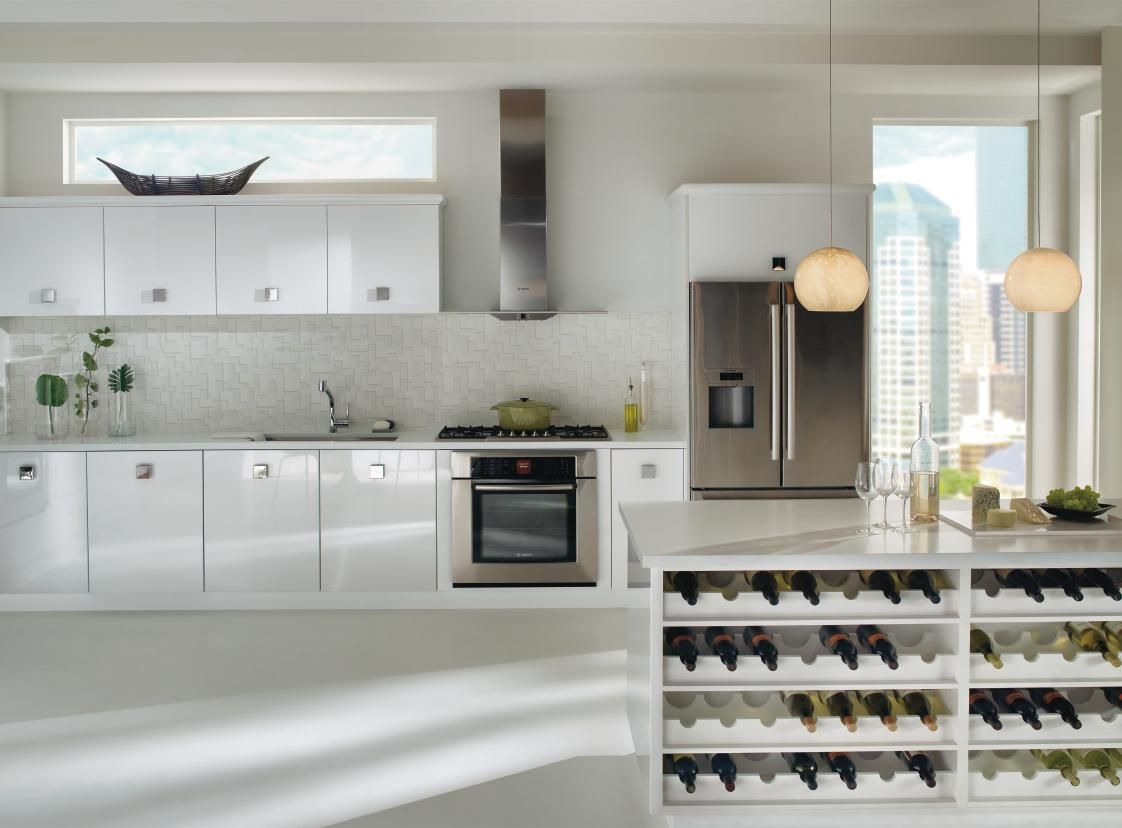 contemporary kitchen from thomasville nouveau #fallidays #