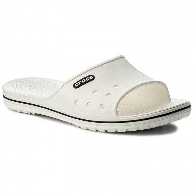 Šľapky CROCS - Crocband II Slide 204108 White Black  17200e00213