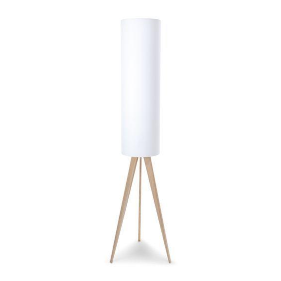 Arik Stehleuchte Stehlampe Weiss Lampe Stehlampe