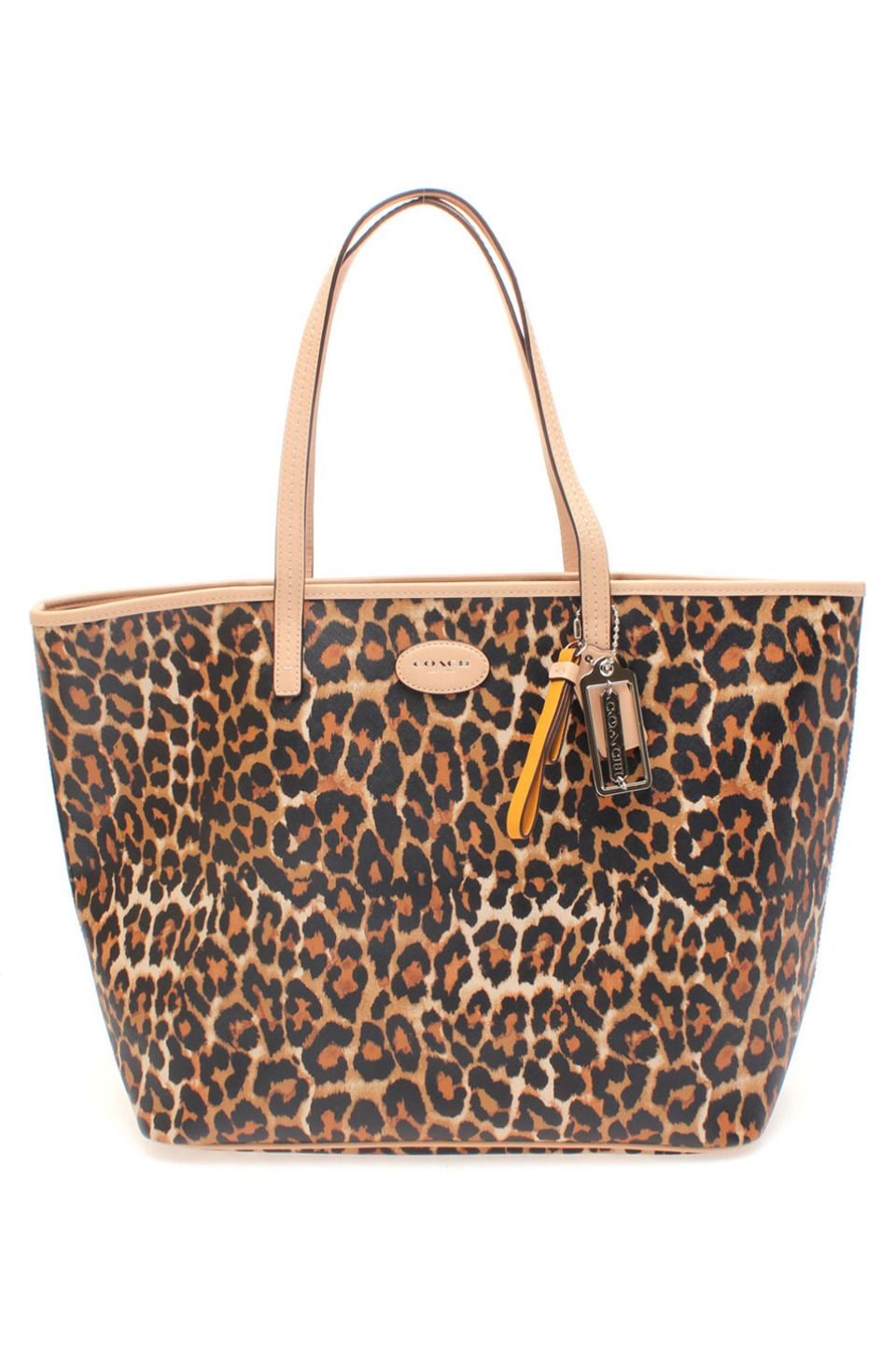 0ff9324ce419 Coach Metro Ocelot Leopard Print Tote - Natural | Bags, Purses, and ...