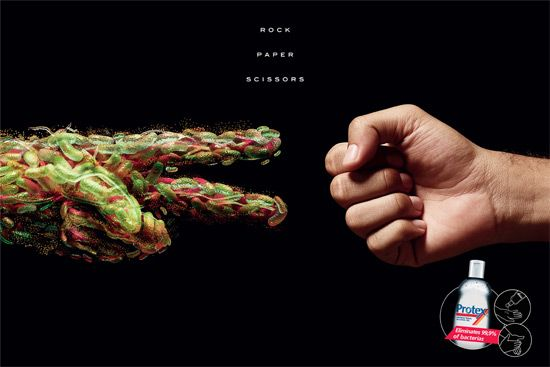 Protex Antibacterial Hand Sanitizer Advertising Campaign Design