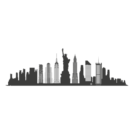 New York Skyline Silhouette Png Image Download As Svg Vector Eps Or Psd Get New Yor London Skyline Silhouette Skyline Silhouette New York Skyline Silhouette