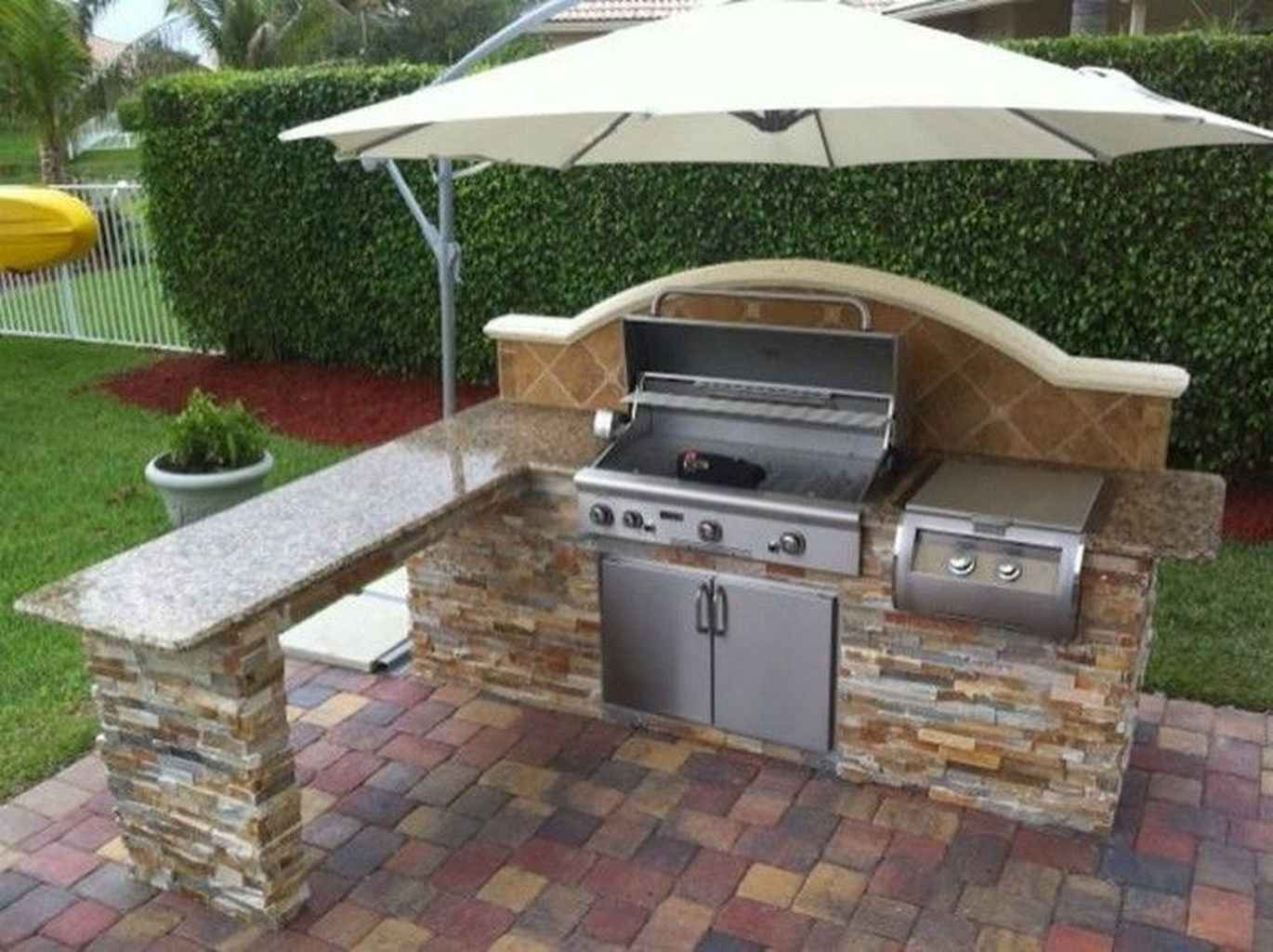 58 Best Outdoor Kitchen And Grill For Summer Backyard Ideas In 2020 Outdoor Kitchen Patio Outdoor Kitchen Design Outdoor Bbq