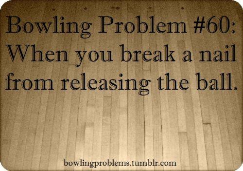 Bowling Problems. #bowling #humor