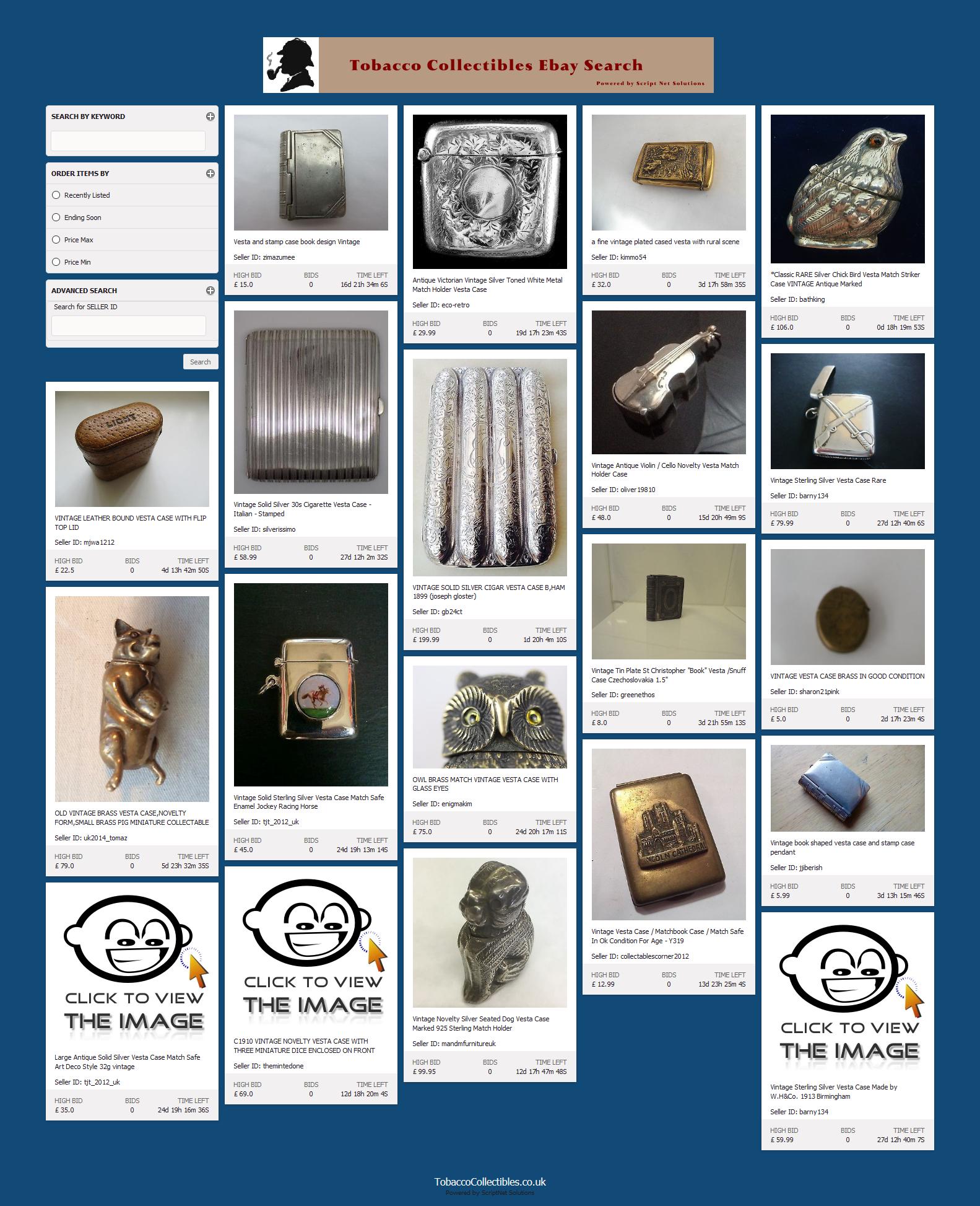 ScriptBay Custom Installation http://tobaccocollectibles.co.uk