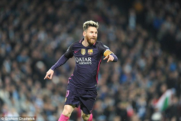 Messi in full flight continues to offer one of the greatest spectacles in world sport