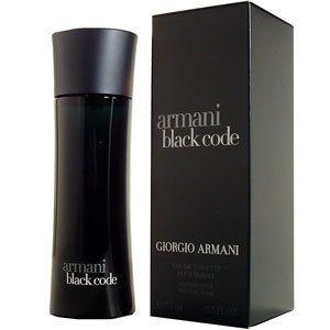 armani code black cologne