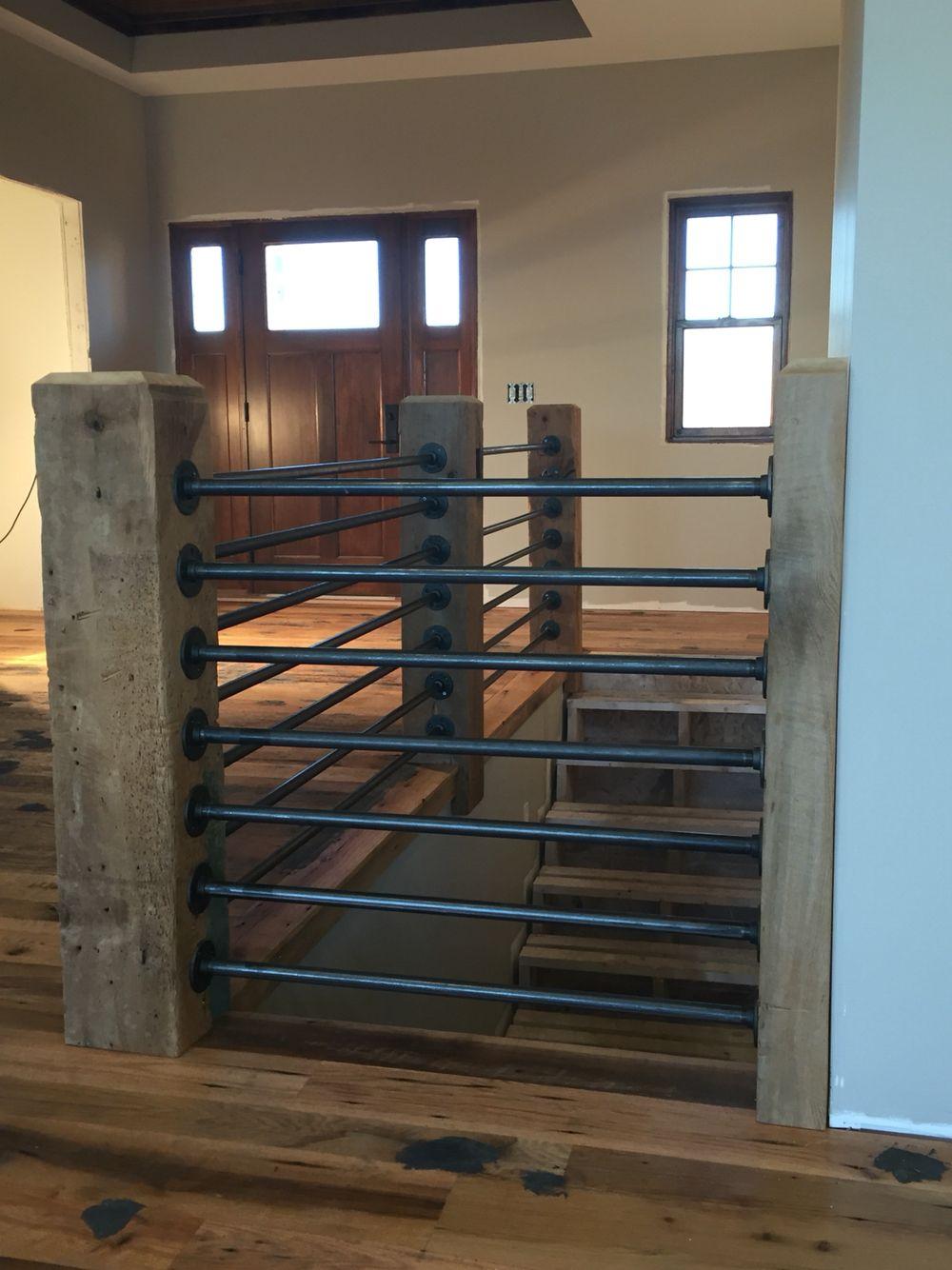 Erstaunlich Dachboden Ausbauen Treppe Sammlung Von · Ideen · Black Gas Pipe Rails