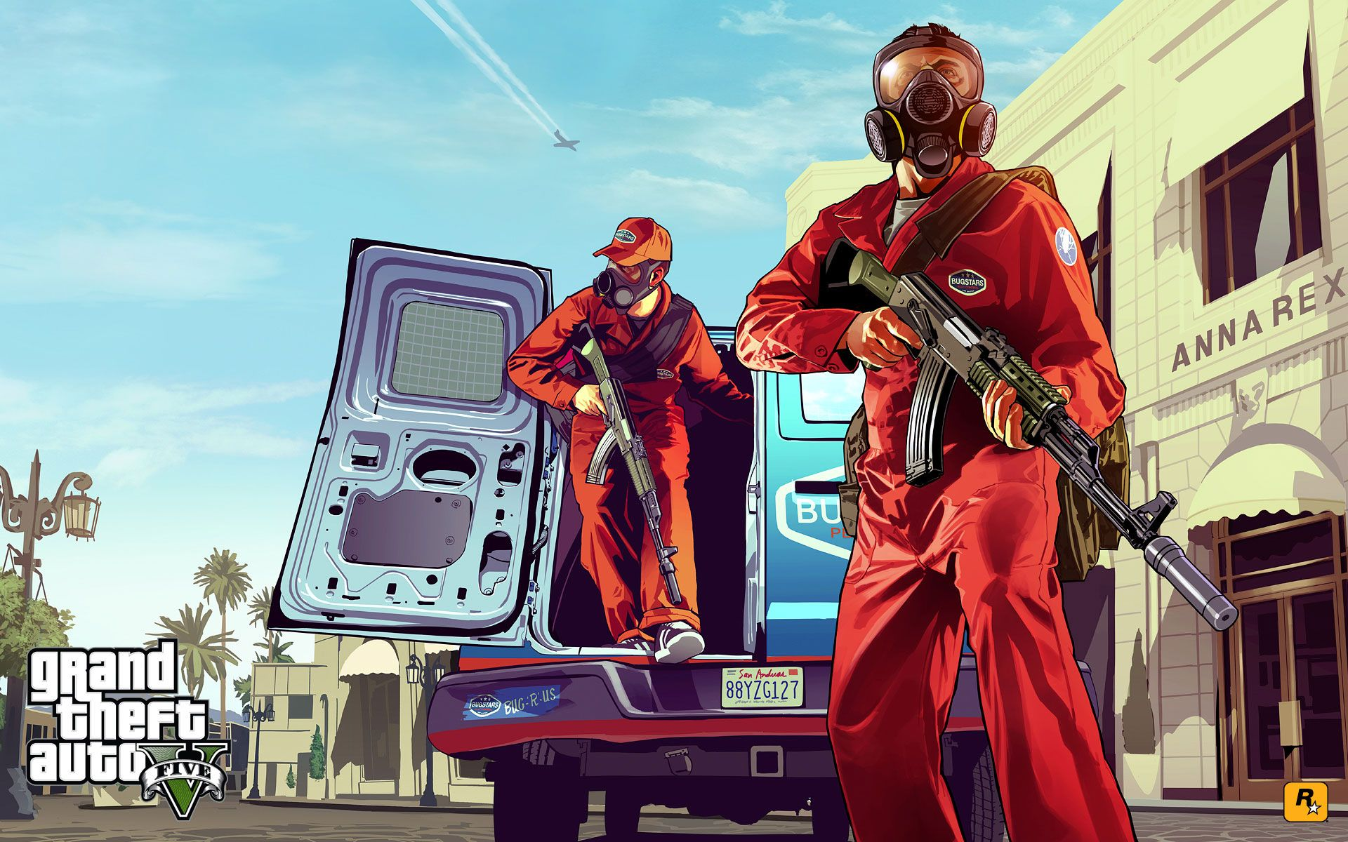 First Grand Theft Auto V Art Released News www