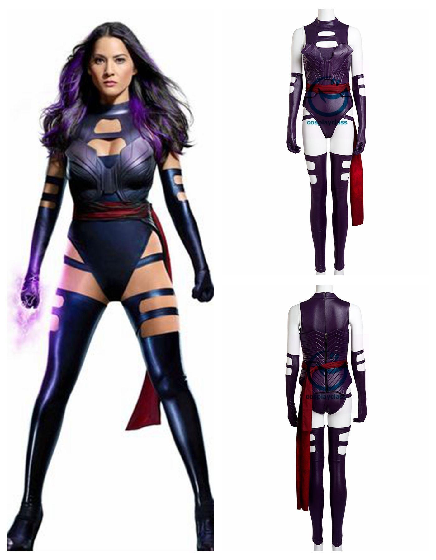 Psylocke From X Men Costume Oliviamunn Marvelcomic Cosplay