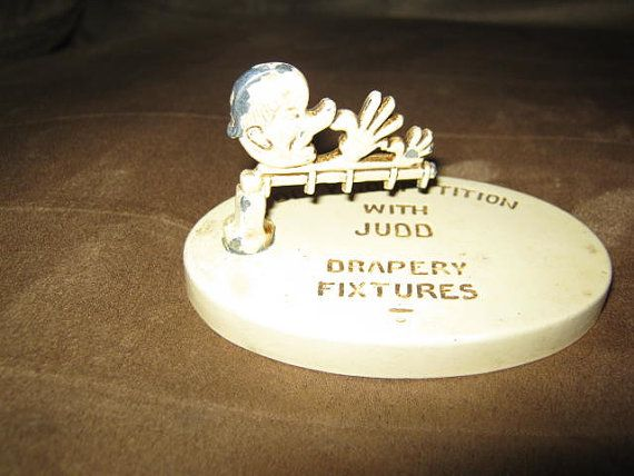 Judd drapery fixtures advertising1930s by MuddyRiverIronWorks, $35.00