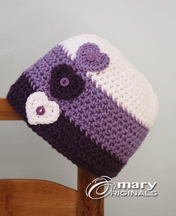 Sombrero del amor del corazón sombrero del corazón gorro del | Etsy