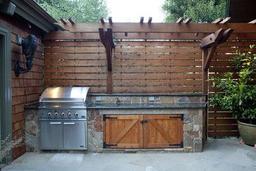 Patio Of The Week Rugged Comfort In Northern California Outdoor Kitchen Rustic Patio Outdoor Kitchen Design