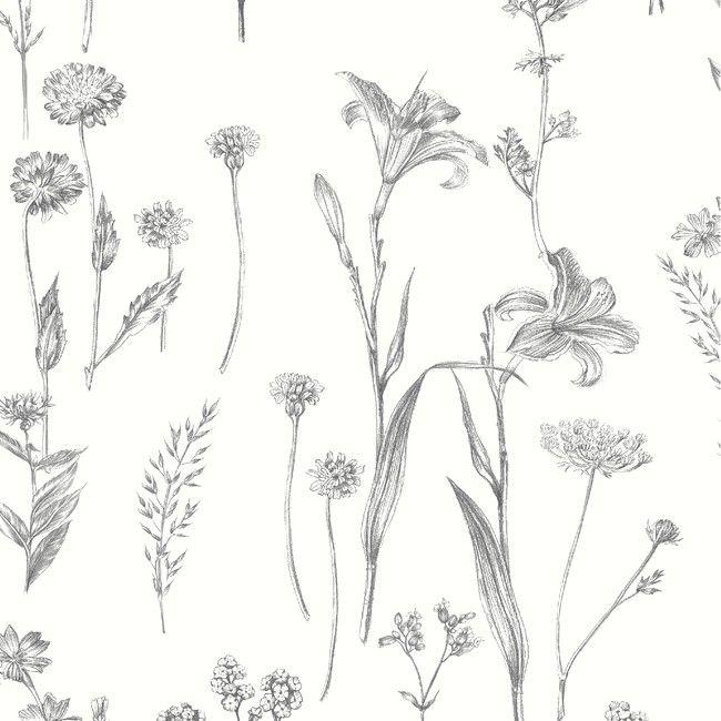 Tapeta Winylowa Na Flizelinie Goodhome Conyza Czarno Biala Tapety Dekoracyjne Goodhome Textured Wallpaper Tree Nature Wallpaper