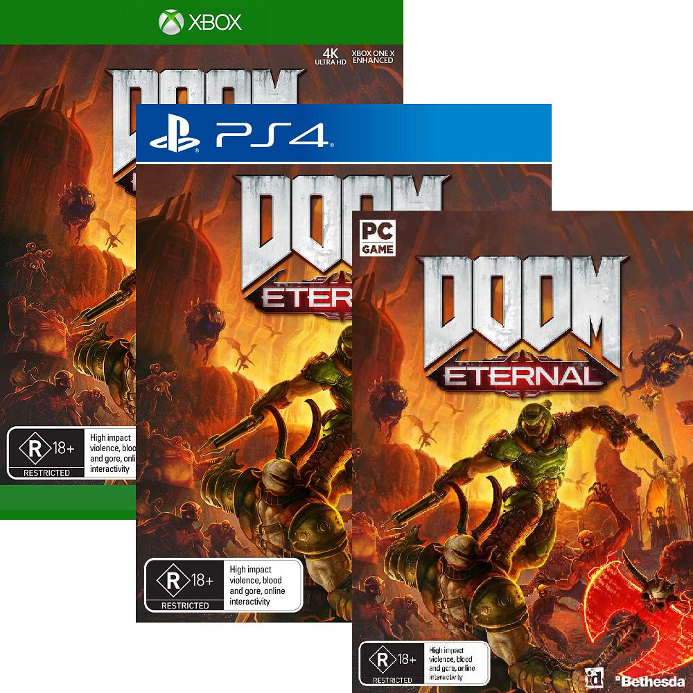 Details about Doom Eternal Playstation 4 PS4 XBOX One PC
