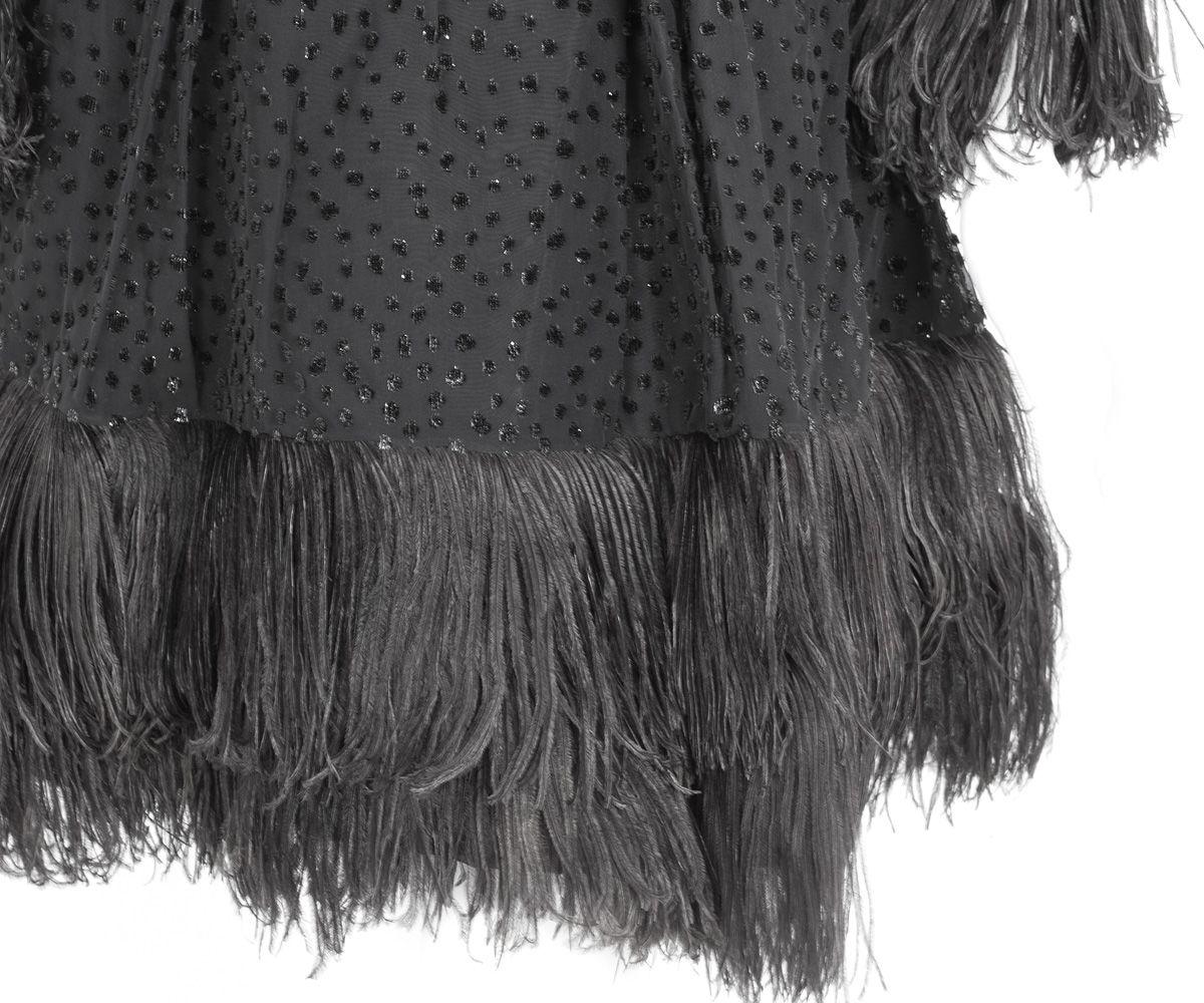 Designer Clothing at Vintage Textile: #7303 Mollie Parnis dress