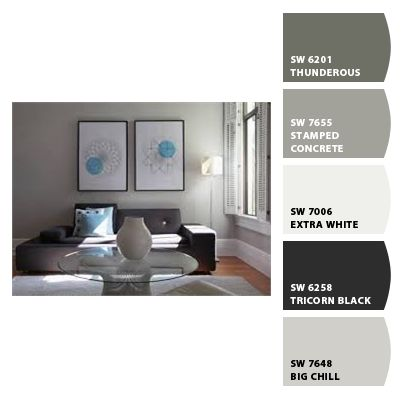 Sherwin Williams Gray Colour Palette I Like The Chill Color