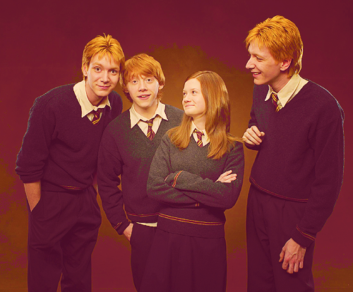 Best Family Ever I Wish They Were My Family Too Atleast Cousins Maybe Neighbors Please Fred And George Weasley George Weasley Harry Potter Ron