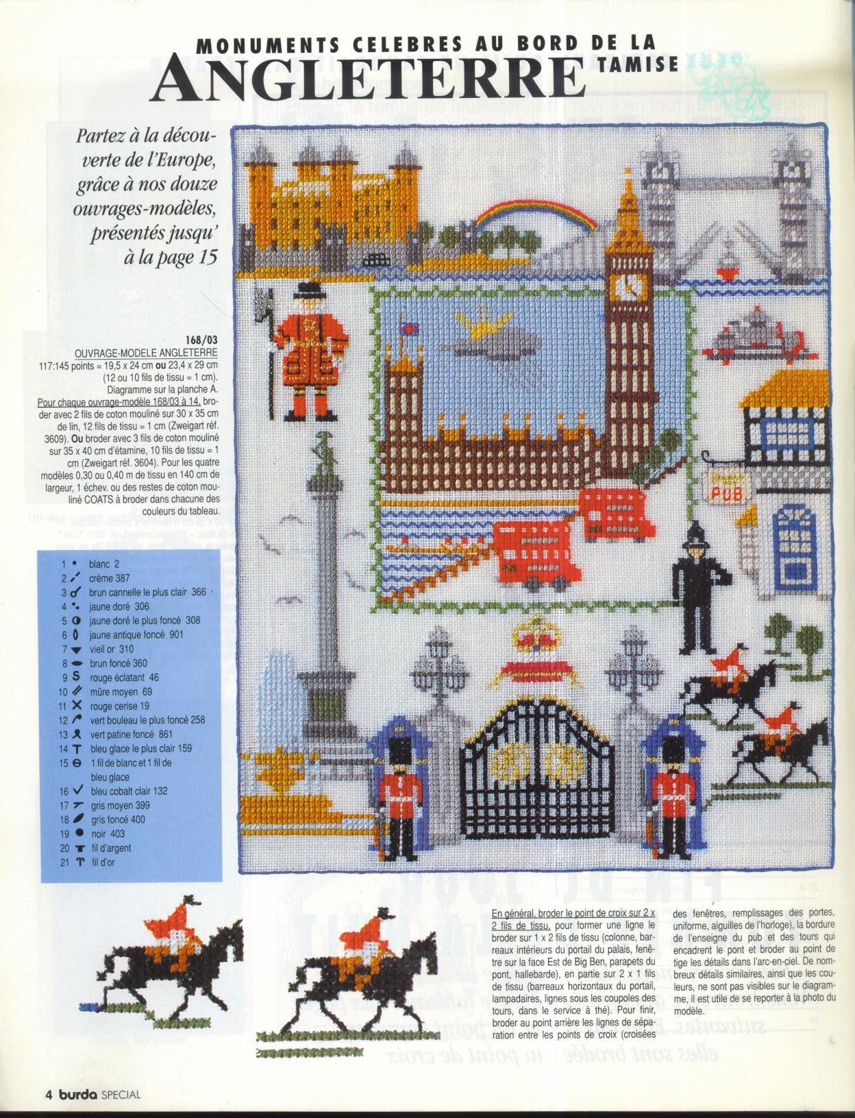 Схема вышивки крестом британский флаг фото 635