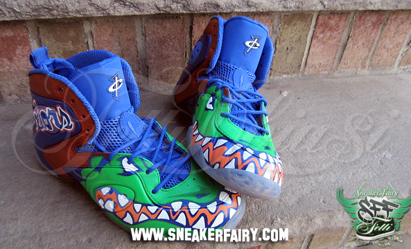 c6c639dd2724 Sneaker Fairy Designs Custom Florida Gators Zoom Rookie