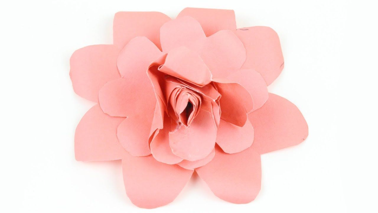 Origami Paper Rose Amazing Tutorial And Origami Flower For Beginner