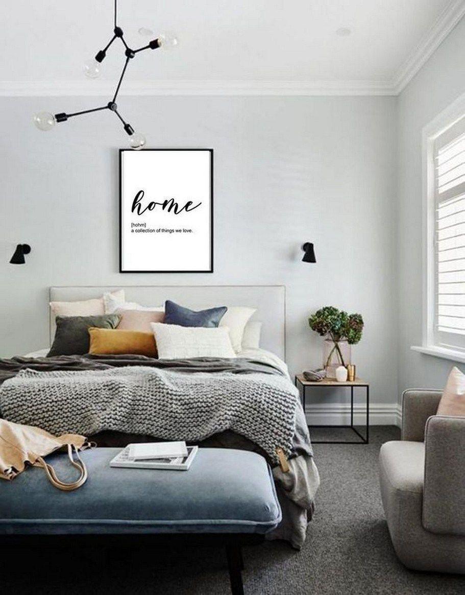 89 Totally Not Boring Minimalist Bedrooms 85 In 2020 Grey Carpet Bedroom Bedroom Carpet Home Decor Bedroom