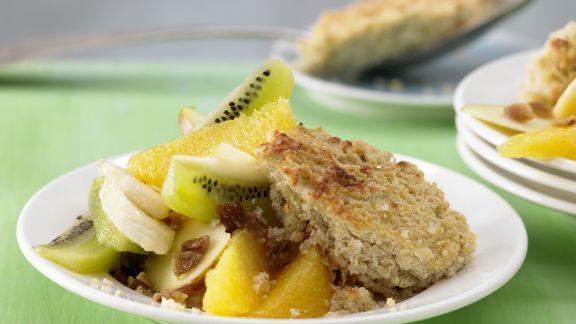 Rezept: Quinoa-Quark-Auflauf