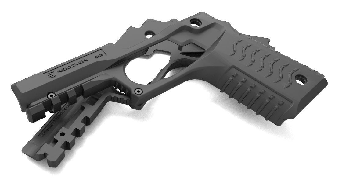 Recover Tactical Grip & Rail System For 1911 Pistols | Guns ...