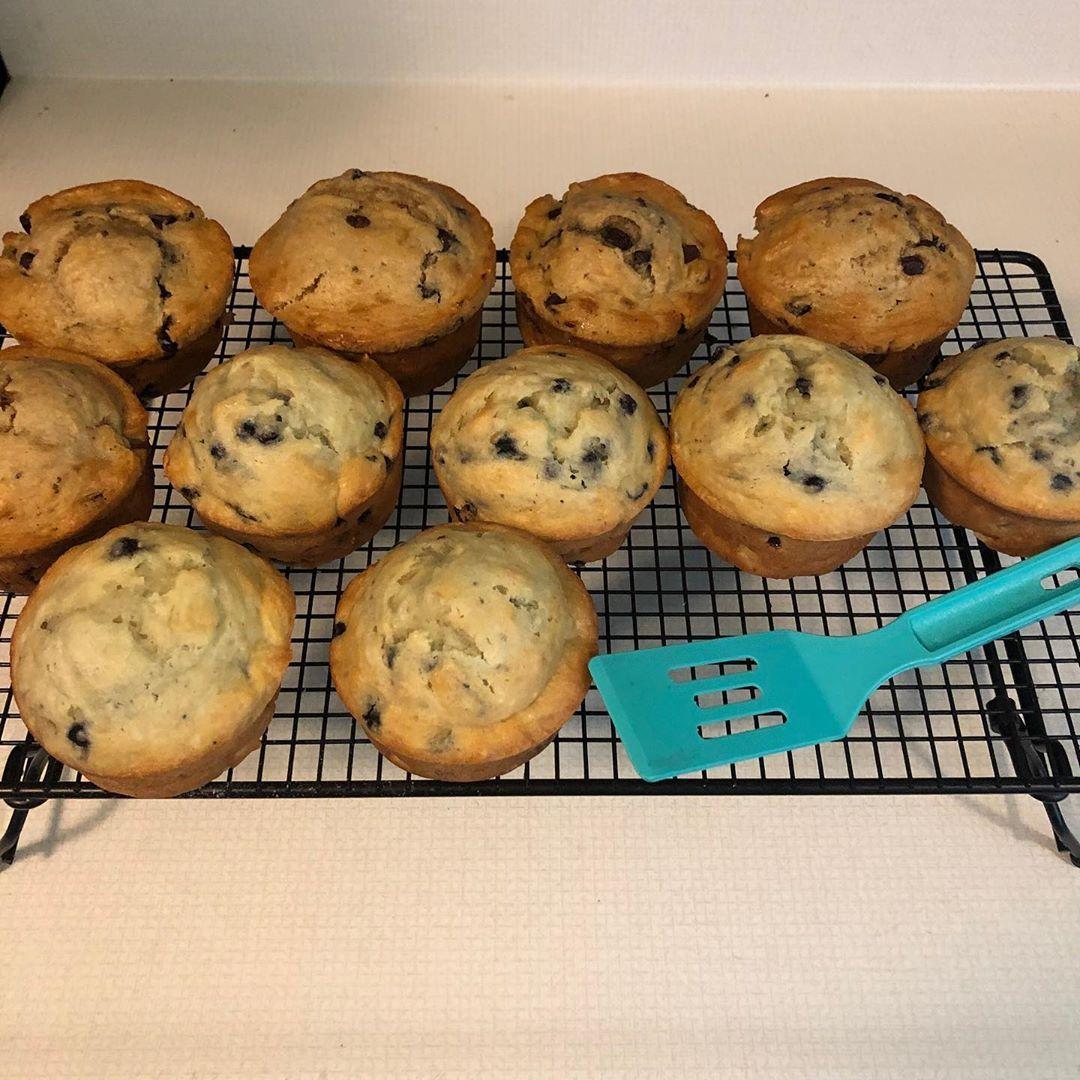 Kitchen Stuff Chocolate Chip Muffins Jumbo Blueberry Muffins