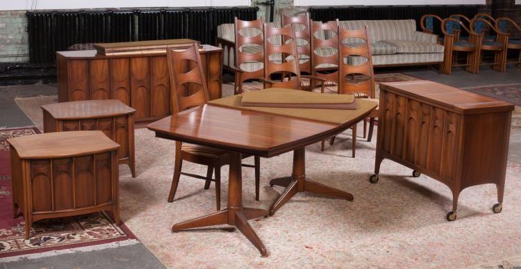 Room Kent Coffey Perspecta Mid Century Dining Set