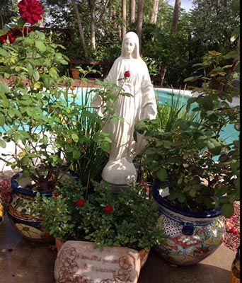 Statue · Mary Statues For The Garden ...