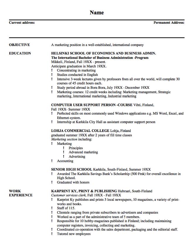 Sample Resume Customer Service Clerk   Http://resumesdesign.com/sample  Resume Customer Service Clerk/