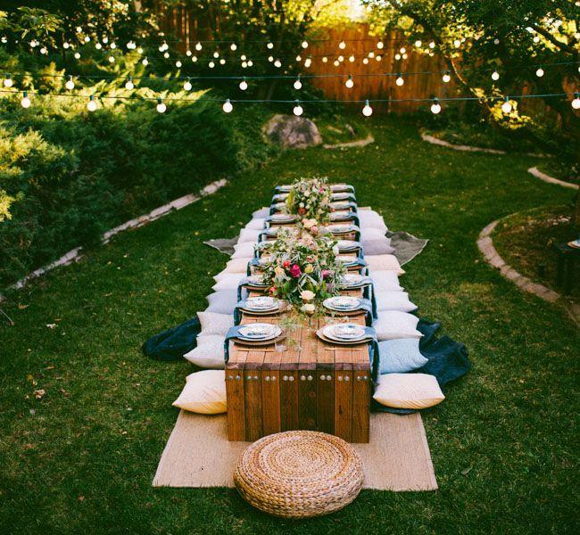 Wonderful Pinterest Dinner Party Ideas Part - 12: Married? Fall Dinner PartiesOutdoor ...