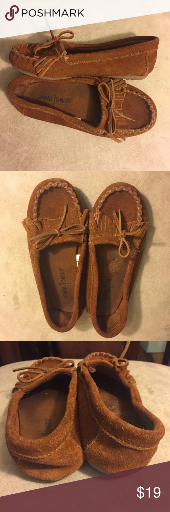 Minnetonka Kilty Suede Moccasin Suede Moccasins Minnetonka Shoes Moccasins