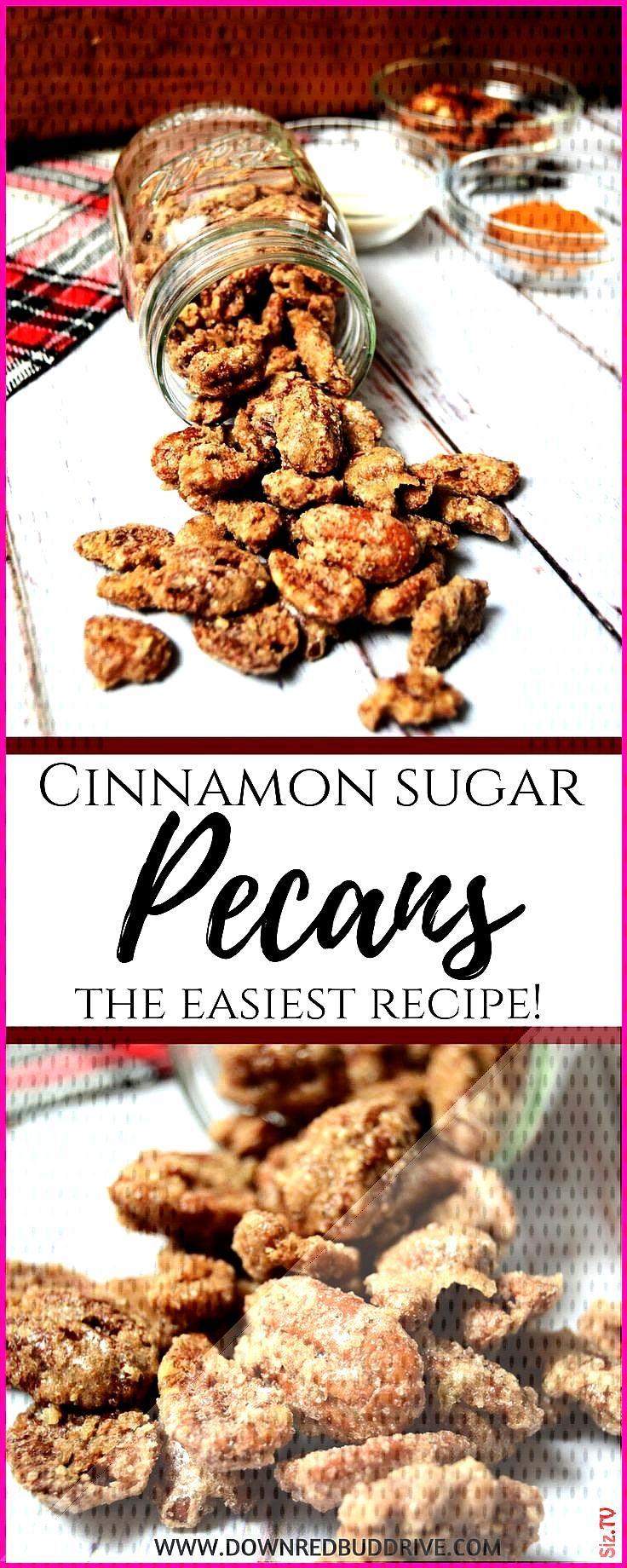 Cinnamon Sugar Pecans  Candied Pecans  Cinnamon Sugar Pecans Recipe  Candied Pecans Recipe  Brown S