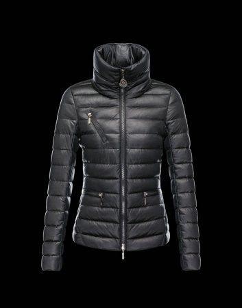 ab0daee24216 MONCLER SUISSE Women Down Hooded Jacket Black   Moncler Jackets ...
