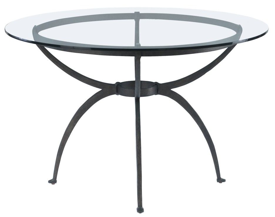 Tripod Table Base For Glass Top From Black Metal Iron Coffee